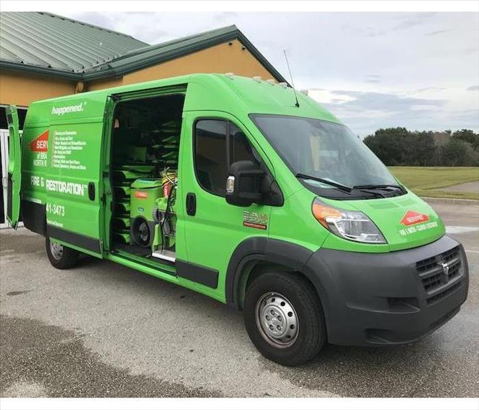 SERVPRO Vehicle and equipment